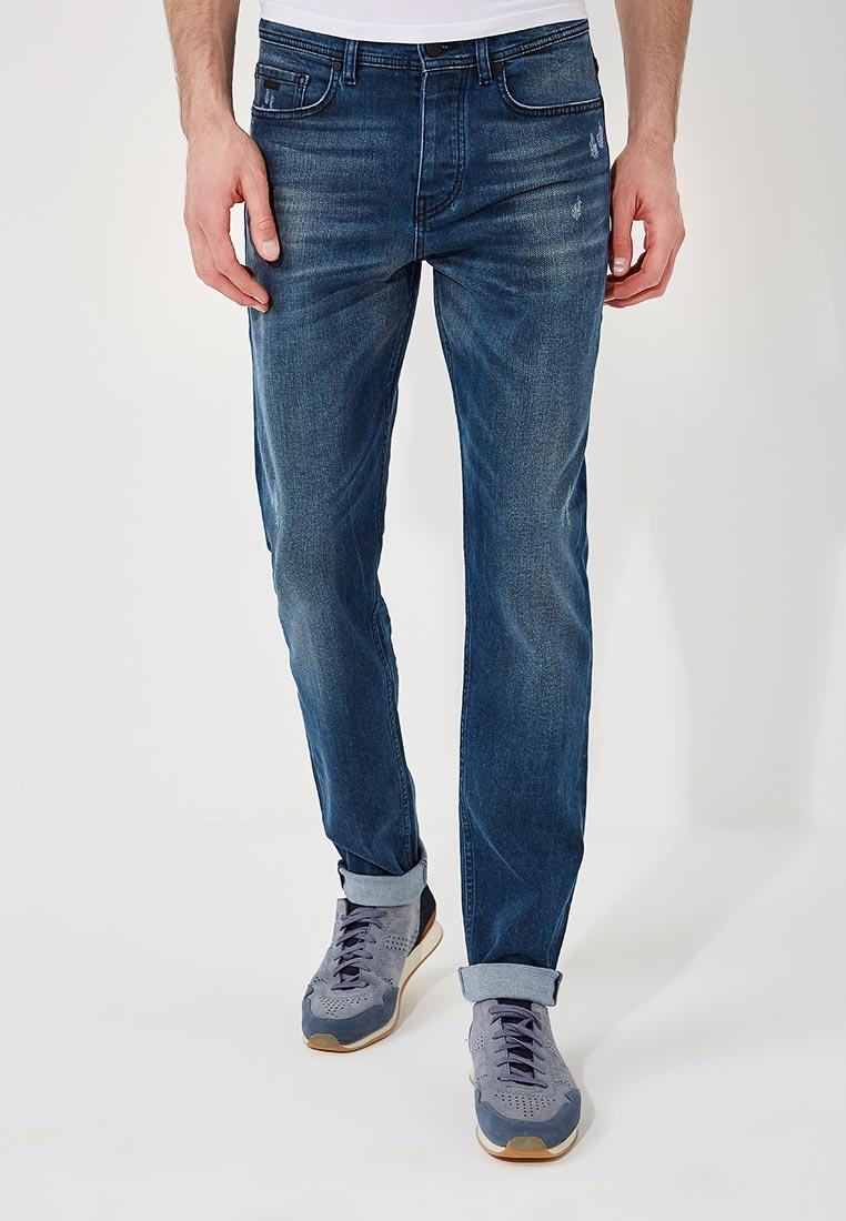 Зауженные джинсы Boss Hugo Boss 50389634