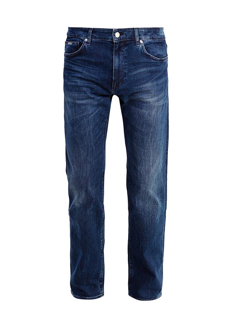 Мужские прямые джинсы Boss Hugo Boss 50379451