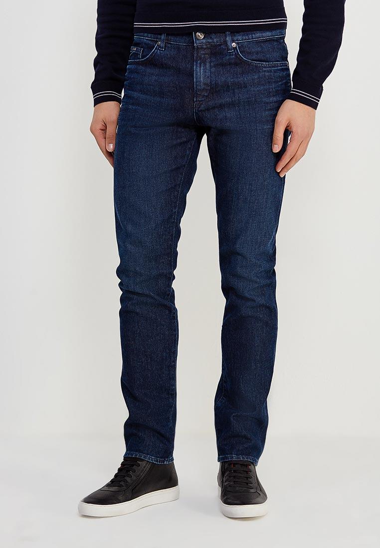 Зауженные джинсы Boss Hugo Boss 50379430