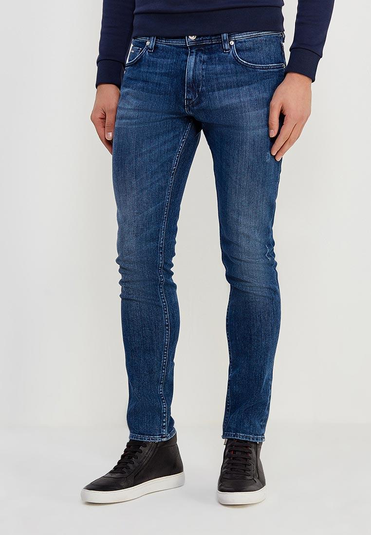 Зауженные джинсы Boss Hugo Boss 50379444