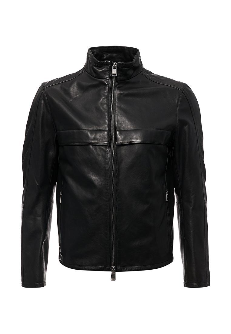 Кожаная куртка Boss Hugo Boss 50378629