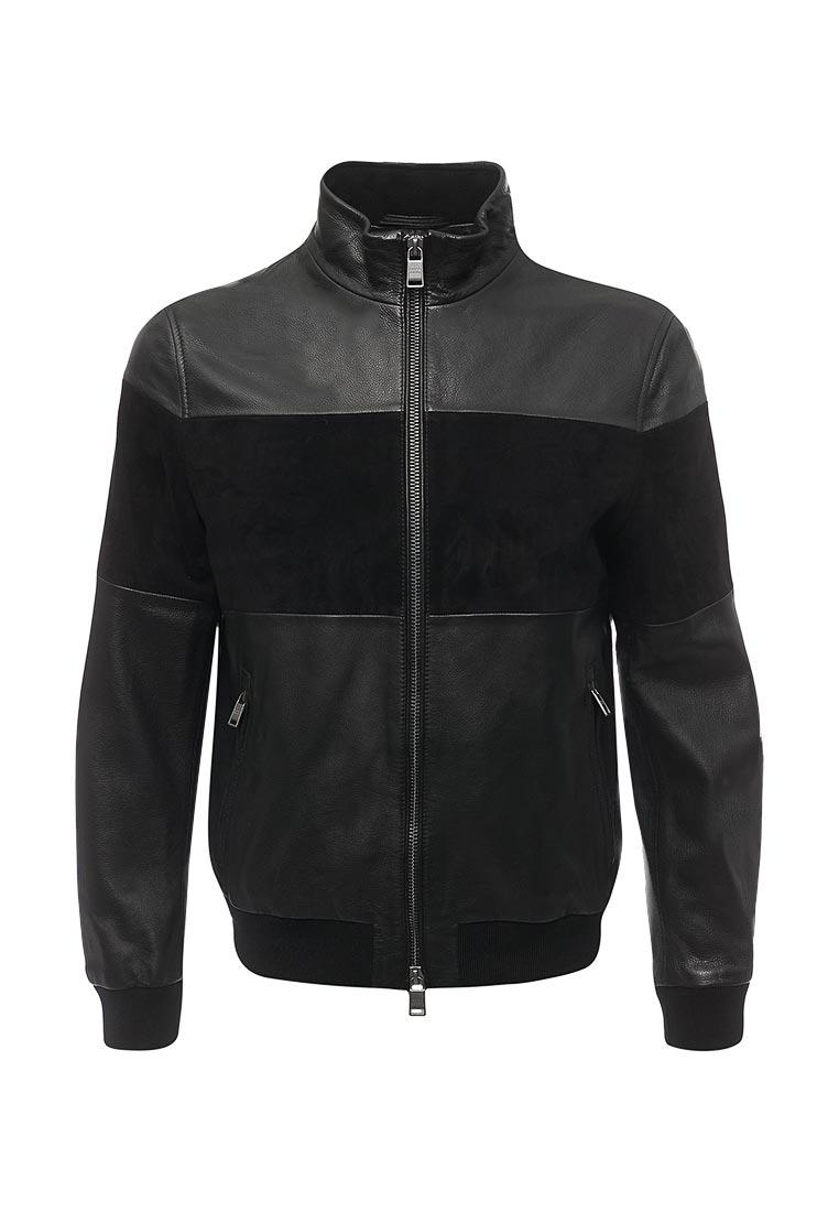 Кожаная куртка Boss Hugo Boss 50378646