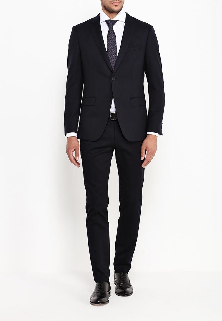 Мужские классические брюки Boss 50323421: изображение 2
