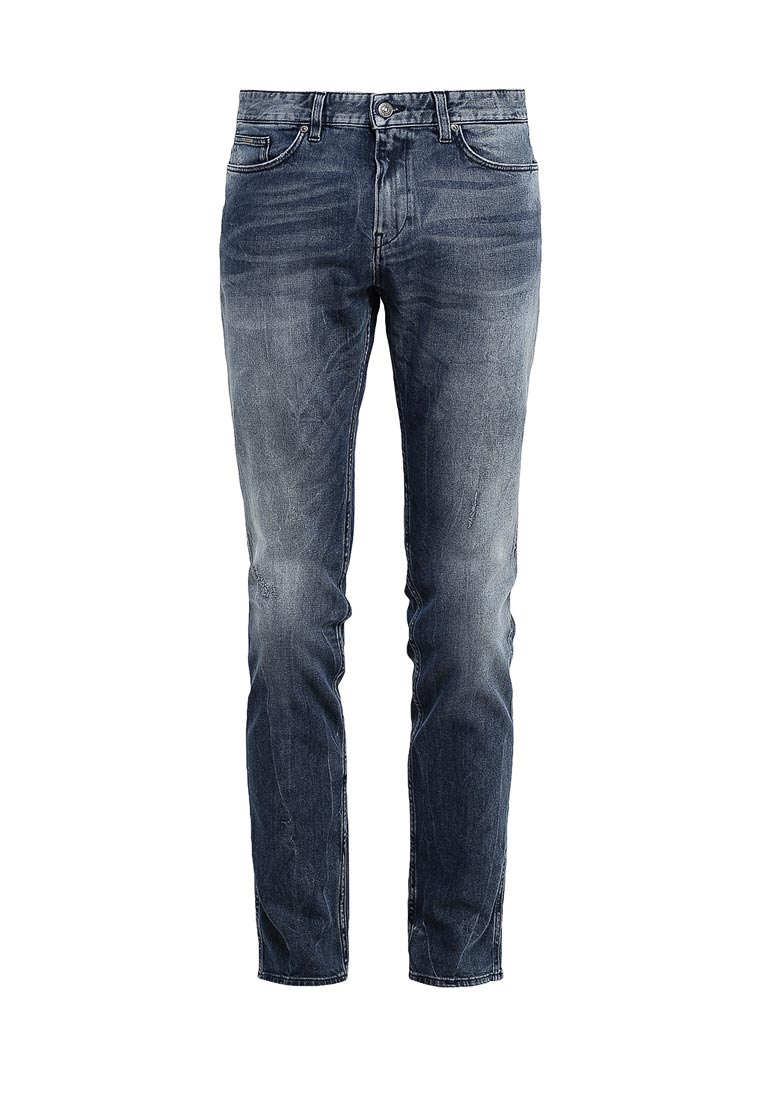 Зауженные джинсы Boss Hugo Boss 50329286