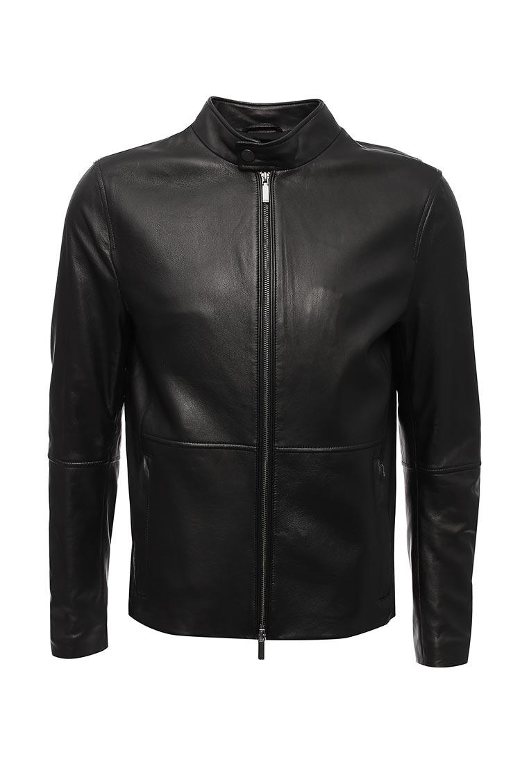 Кожаная куртка Boss Hugo Boss 50369109
