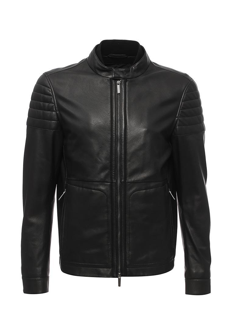 Кожаная куртка Boss Hugo Boss 50369887