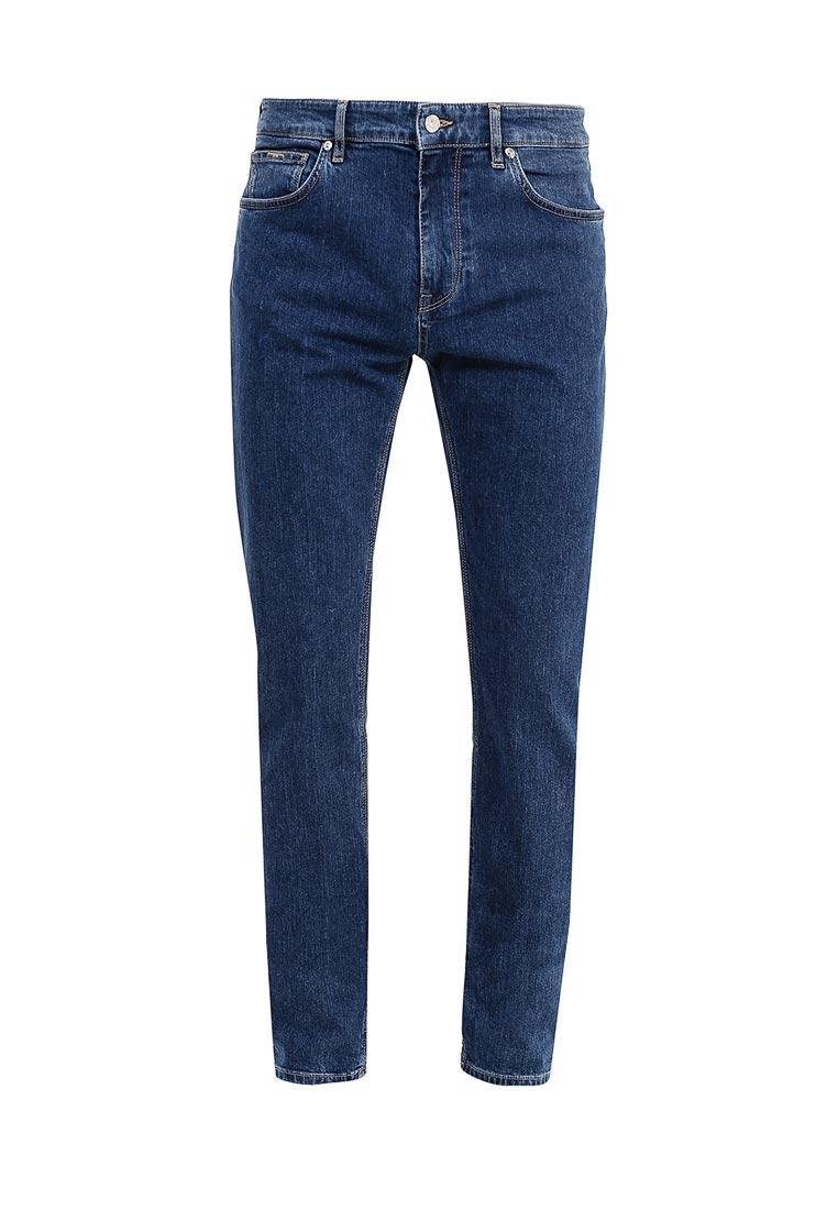 Мужские прямые джинсы Boss Hugo Boss 50369810