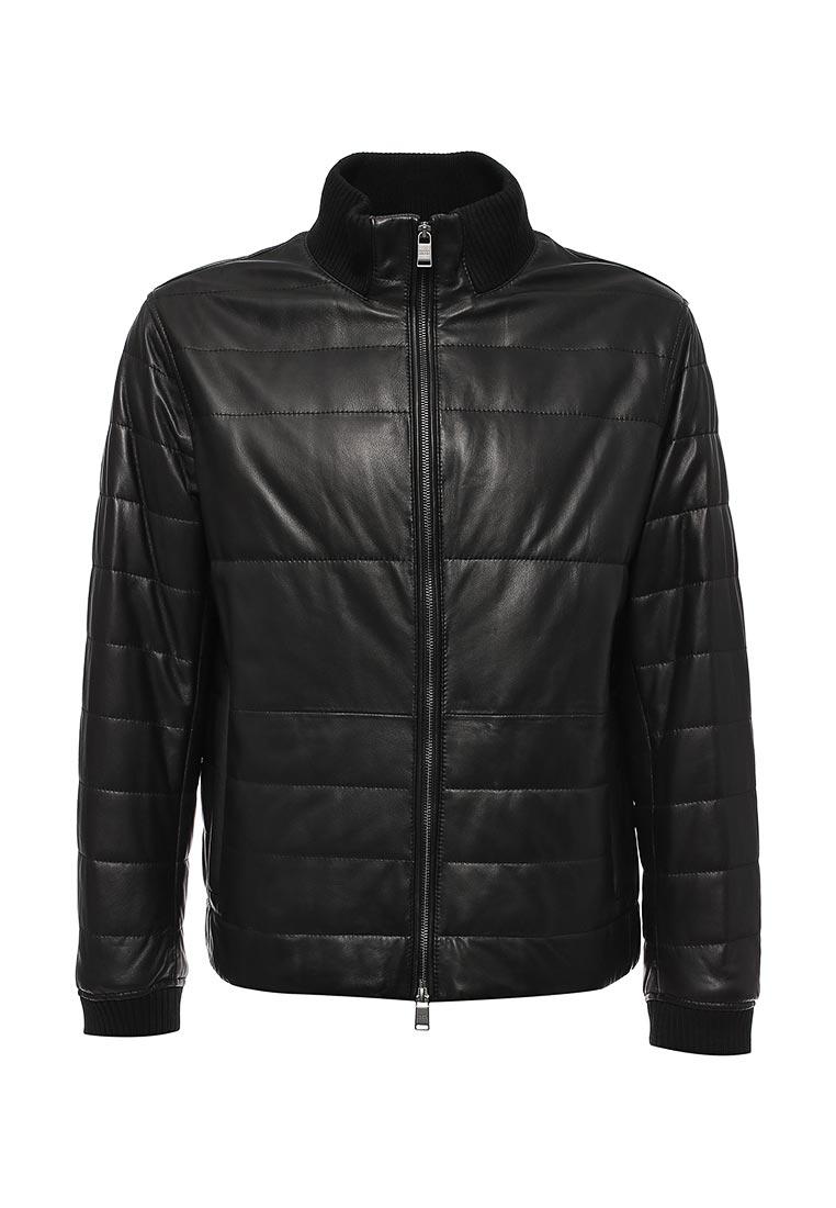 Кожаная куртка Boss Hugo Boss 50374237: изображение 1