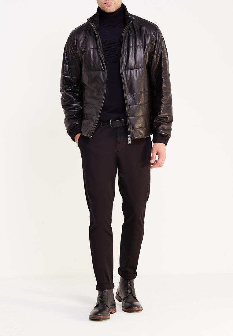Кожаная куртка Boss Hugo Boss 50374237: изображение 2