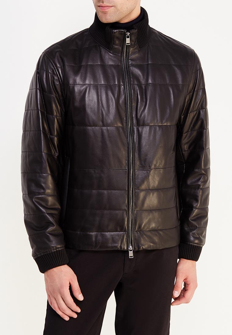 Кожаная куртка Boss Hugo Boss 50374237: изображение 3