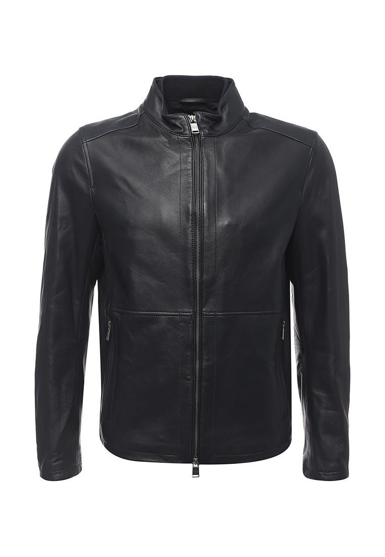 Кожаная куртка Boss Hugo Boss 50374185