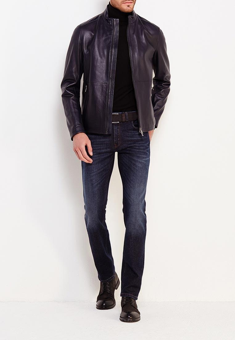 Кожаная куртка Boss Hugo Boss 50374185: изображение 2