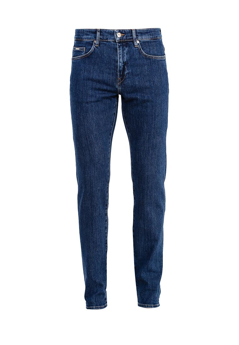 Зауженные джинсы Boss Hugo Boss 50374670