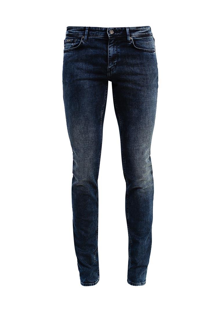 Зауженные джинсы Boss Hugo Boss 50374673