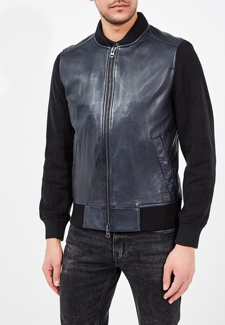Кожаная куртка Boss Hugo Boss 50382330