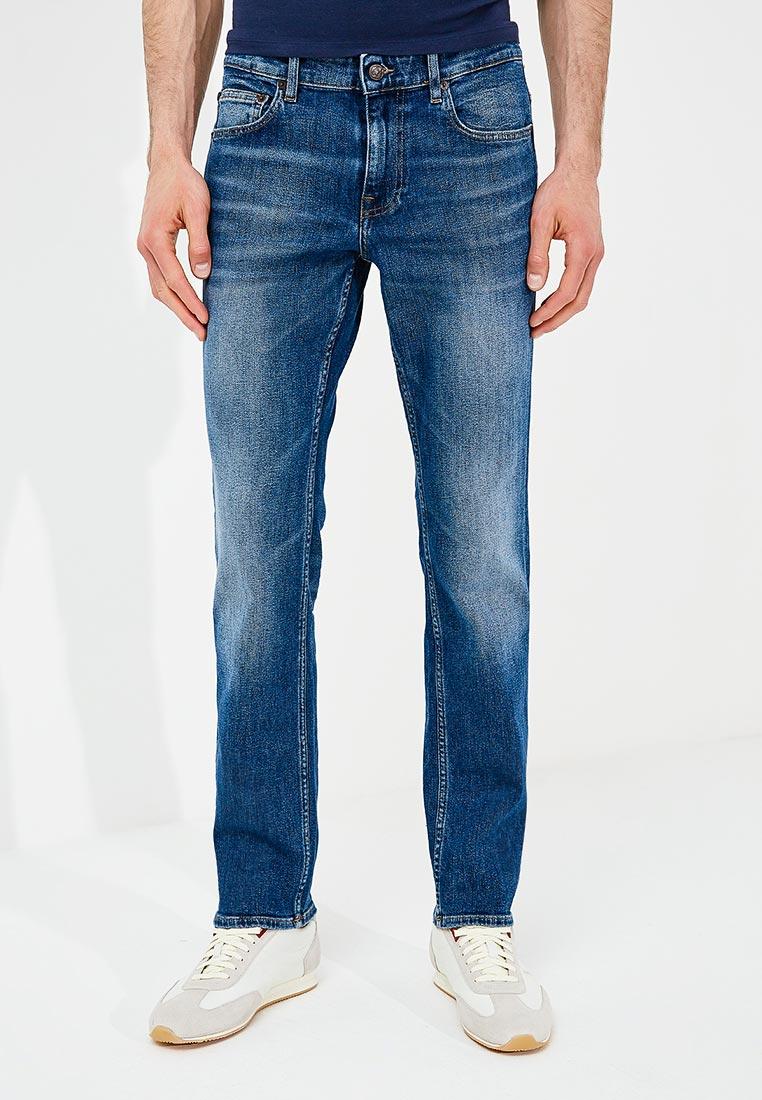 Мужские прямые джинсы Boss Hugo Boss 50382069