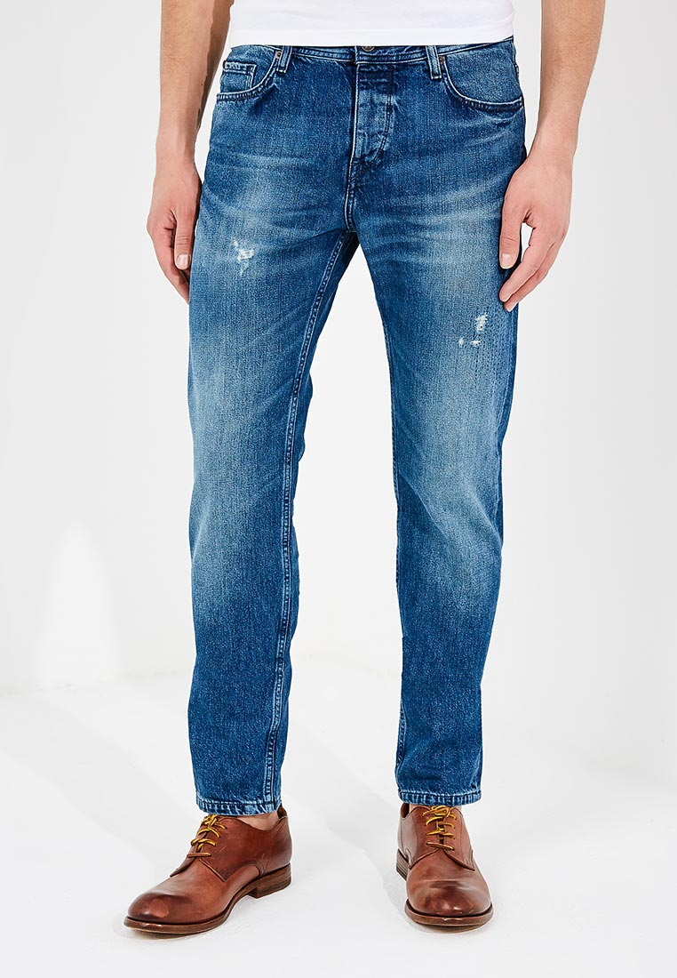 Зауженные джинсы Boss Hugo Boss 50382093