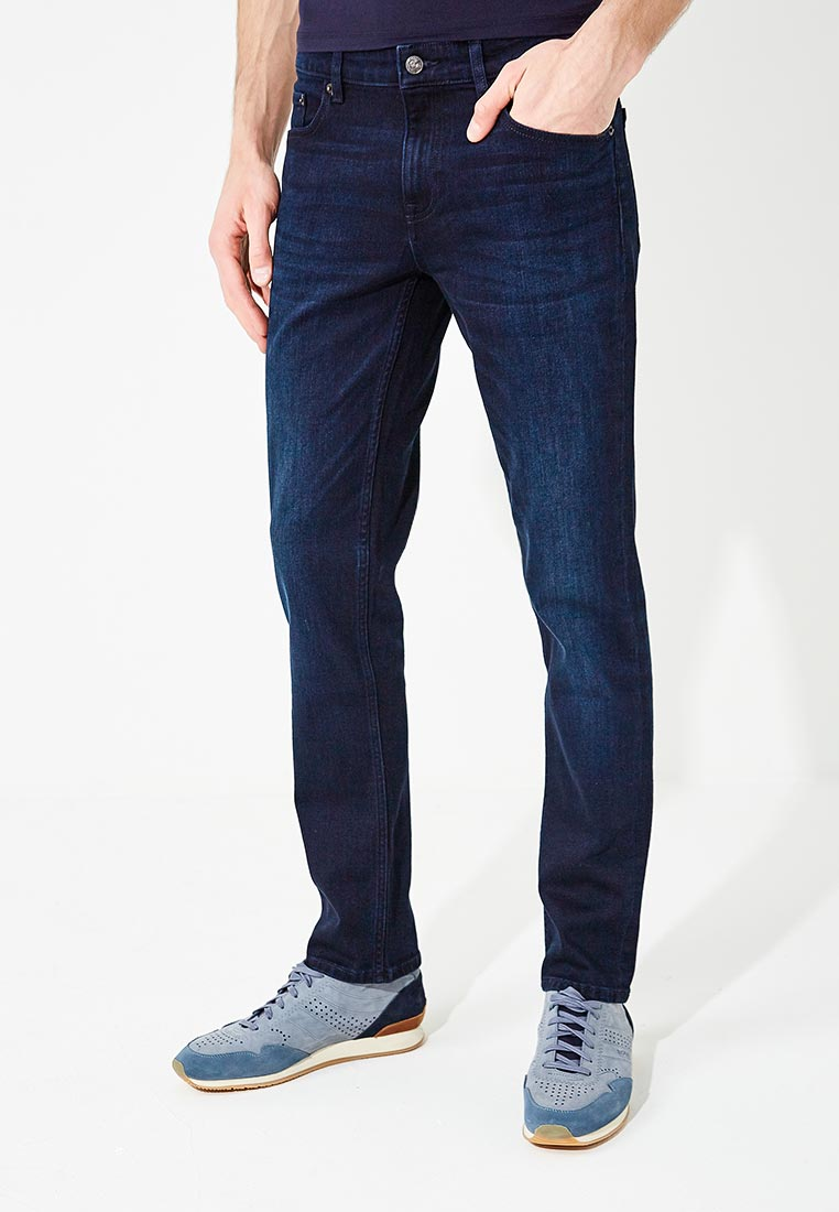 Мужские прямые джинсы Boss Hugo Boss 50382133