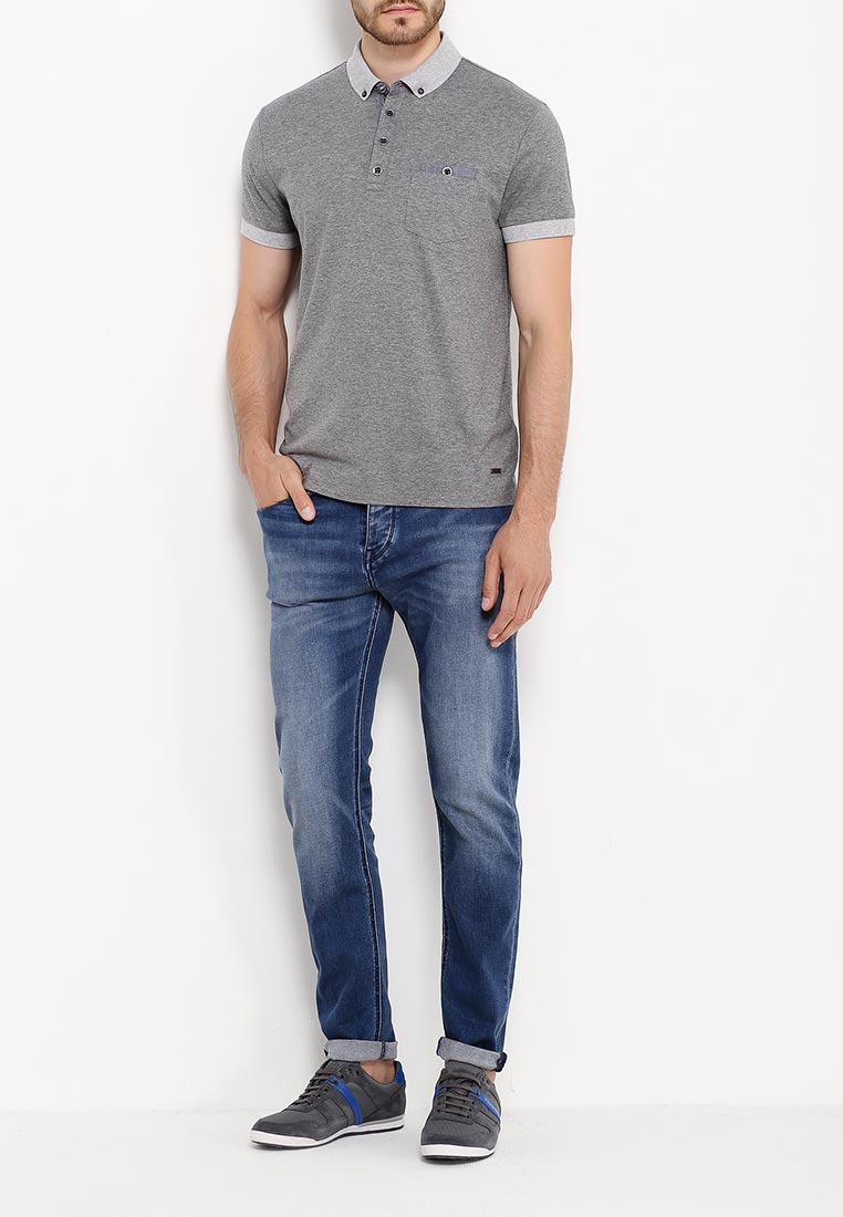 Зауженные джинсы Boss Orange 50320406: изображение 2