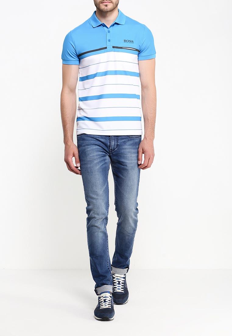 Зауженные джинсы Boss Orange 50320377: изображение 2