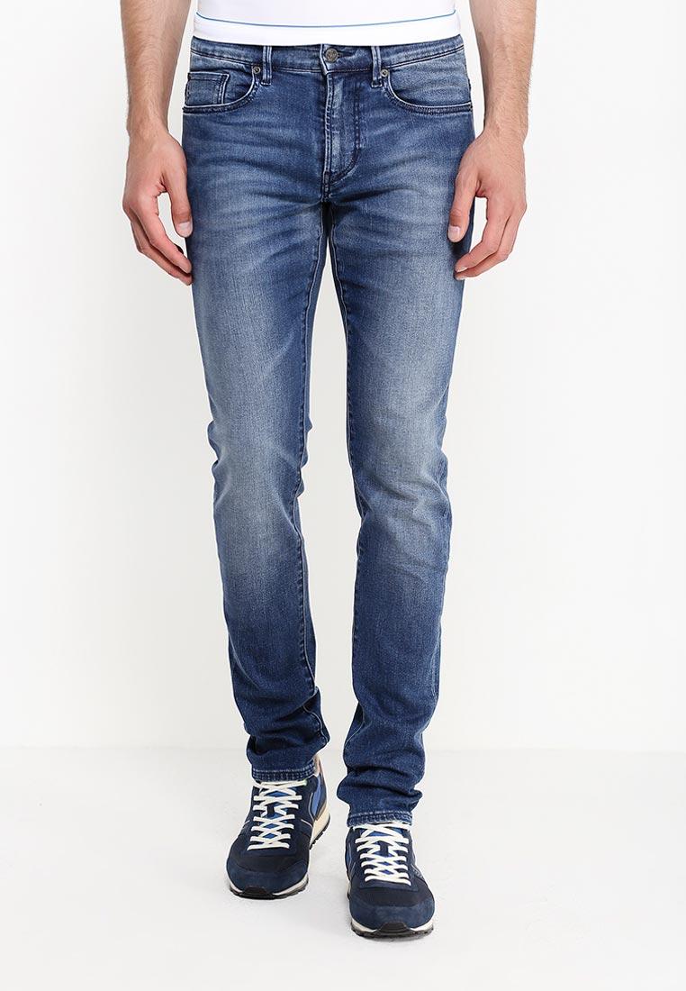 Зауженные джинсы Boss Orange 50320377: изображение 3