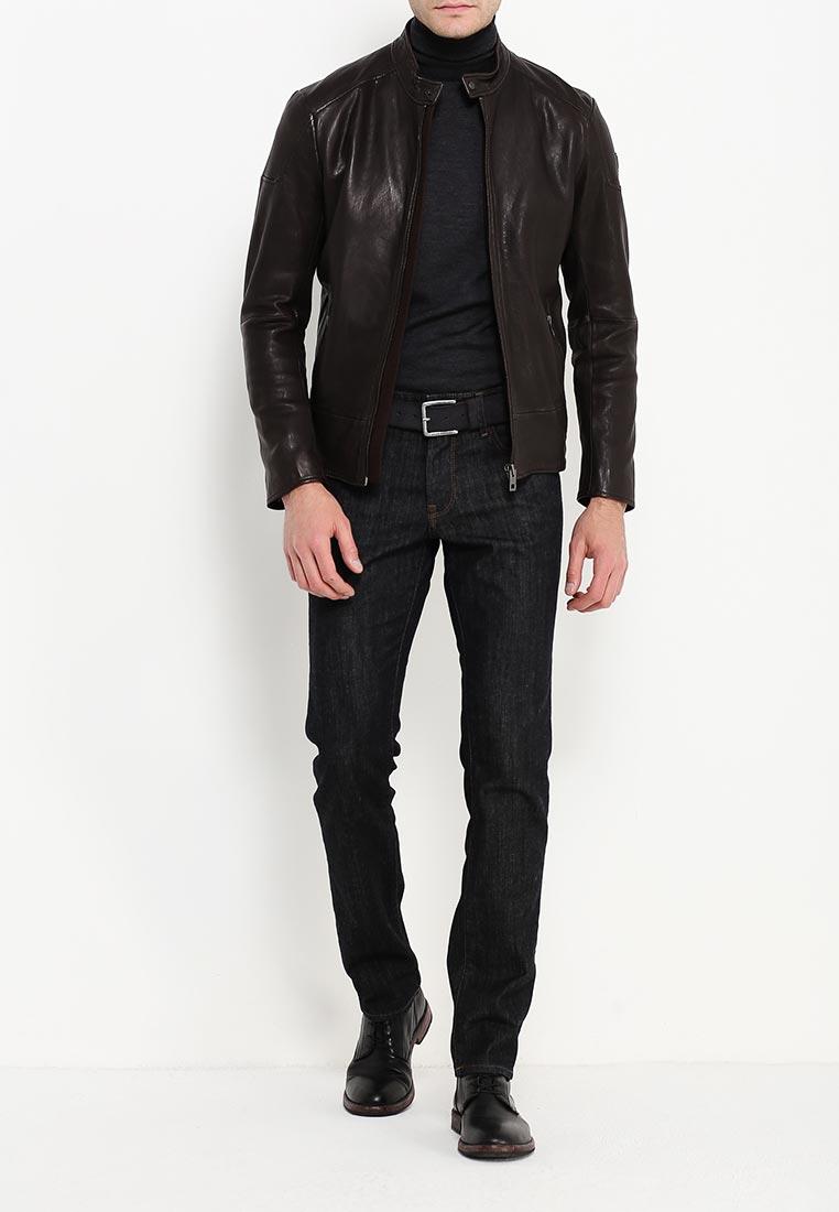Мужские прямые джинсы Boss Orange 50302775: изображение 6