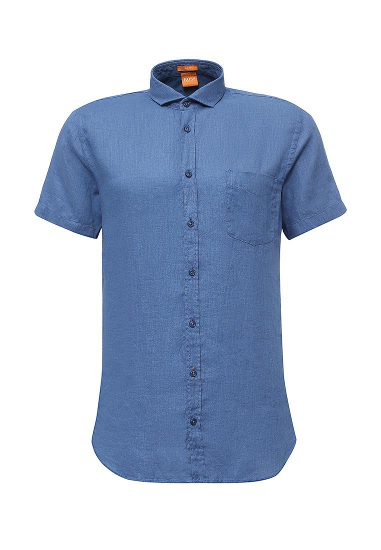 Рубашка с коротким рукавом Boss Orange (Босс Оранж) 50329417