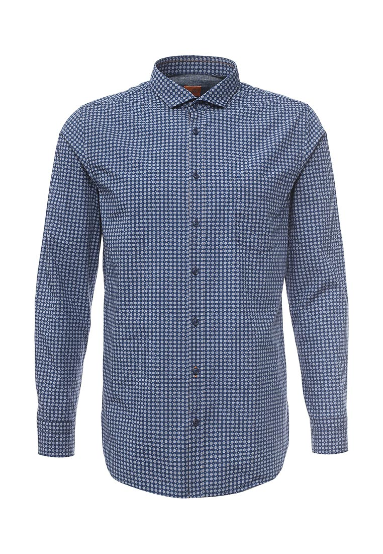 Рубашка с длинным рукавом Boss Orange (Босс Оранж) 50369296