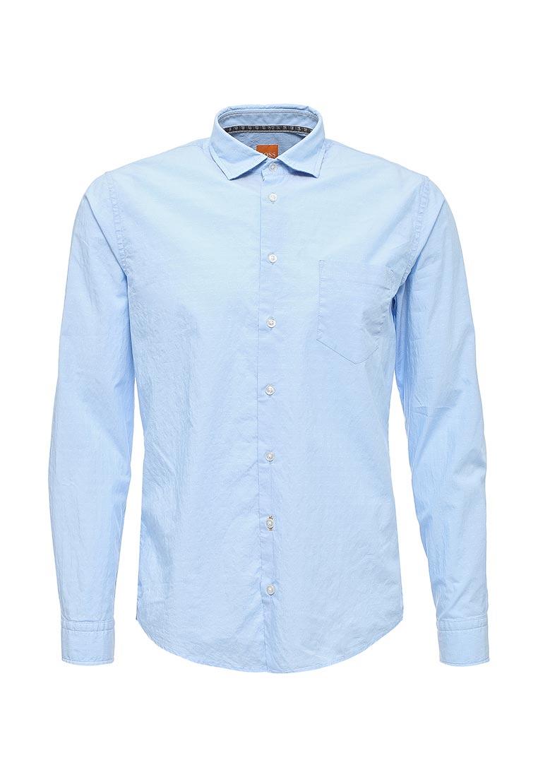 Рубашка с длинным рукавом Boss Orange (Босс Оранж) 50369345