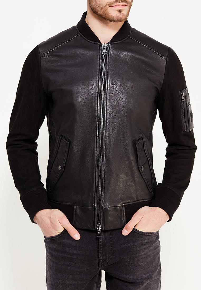 Кожаная куртка Boss Hugo Boss 50377821