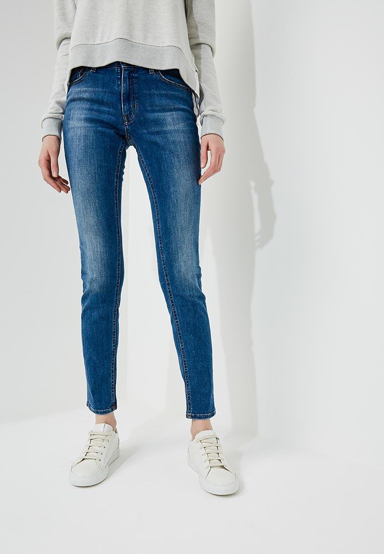 Зауженные джинсы Boss Hugo Boss 50381875