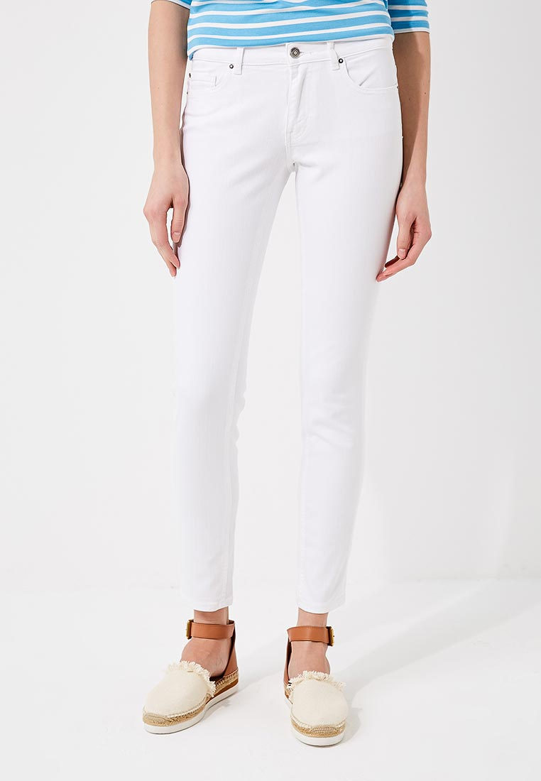 Зауженные джинсы Boss Hugo Boss 50381900