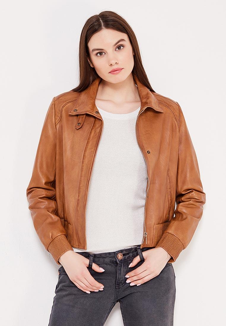 Кожаная куртка Boss Orange 50370846