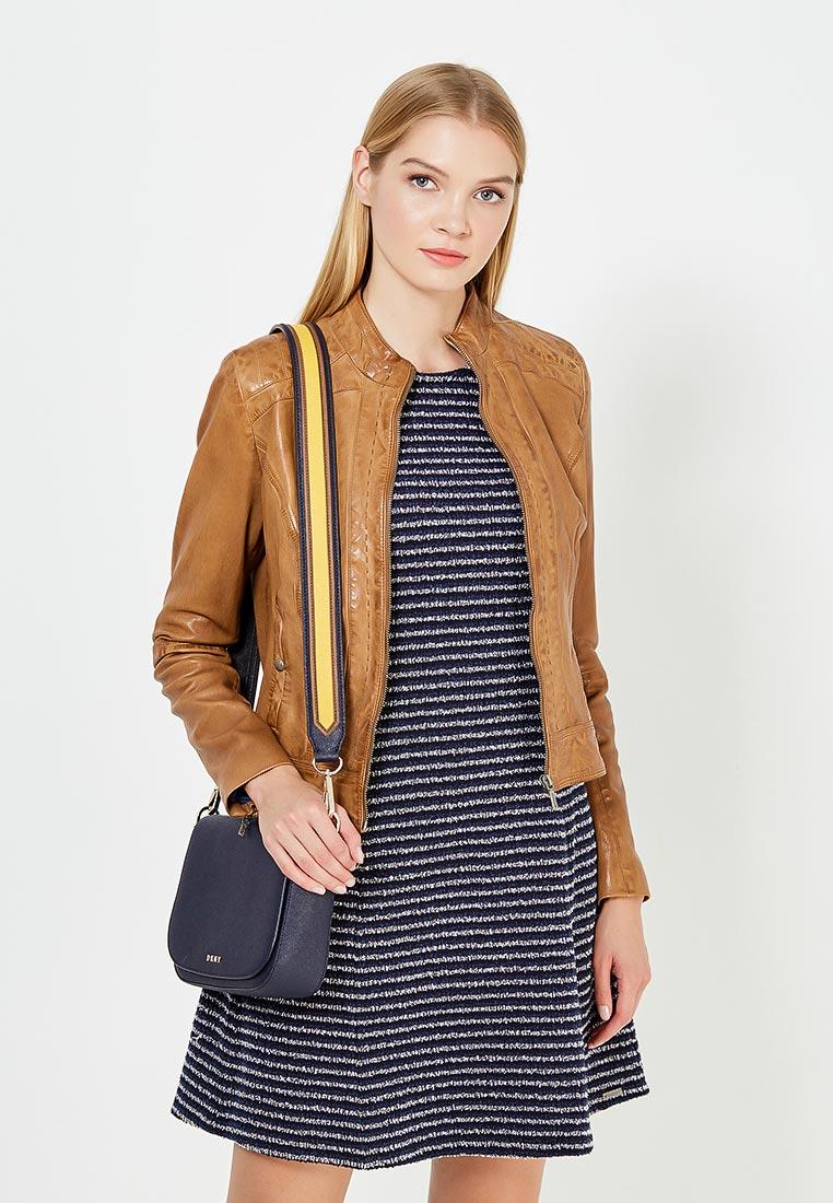 Кожаная куртка Boss Orange 50332880