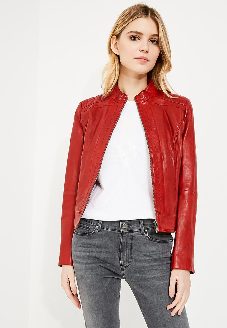 Кожаная куртка Boss Hugo Boss 50378624
