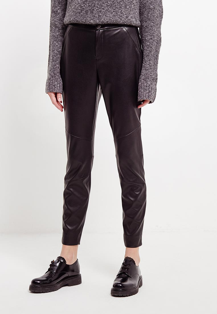 Женские зауженные брюки Boss Hugo Boss 50379217