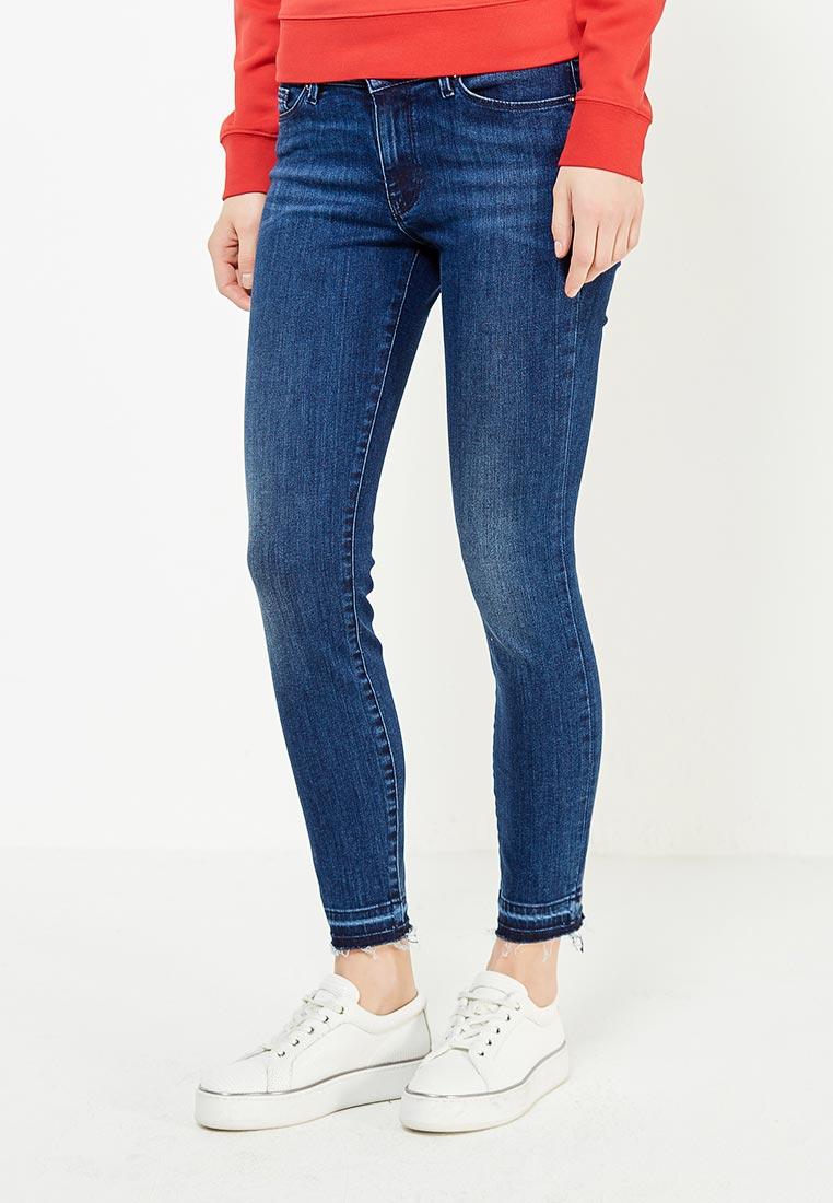 Зауженные джинсы Boss Orange 50378832