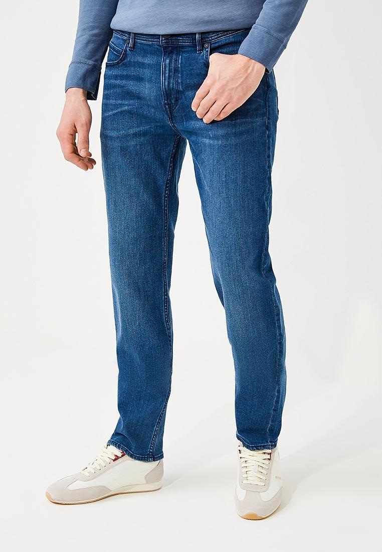 Мужские прямые джинсы Boss Hugo Boss 50382742