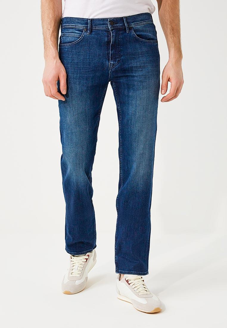 Мужские прямые джинсы Boss Hugo Boss 50382677