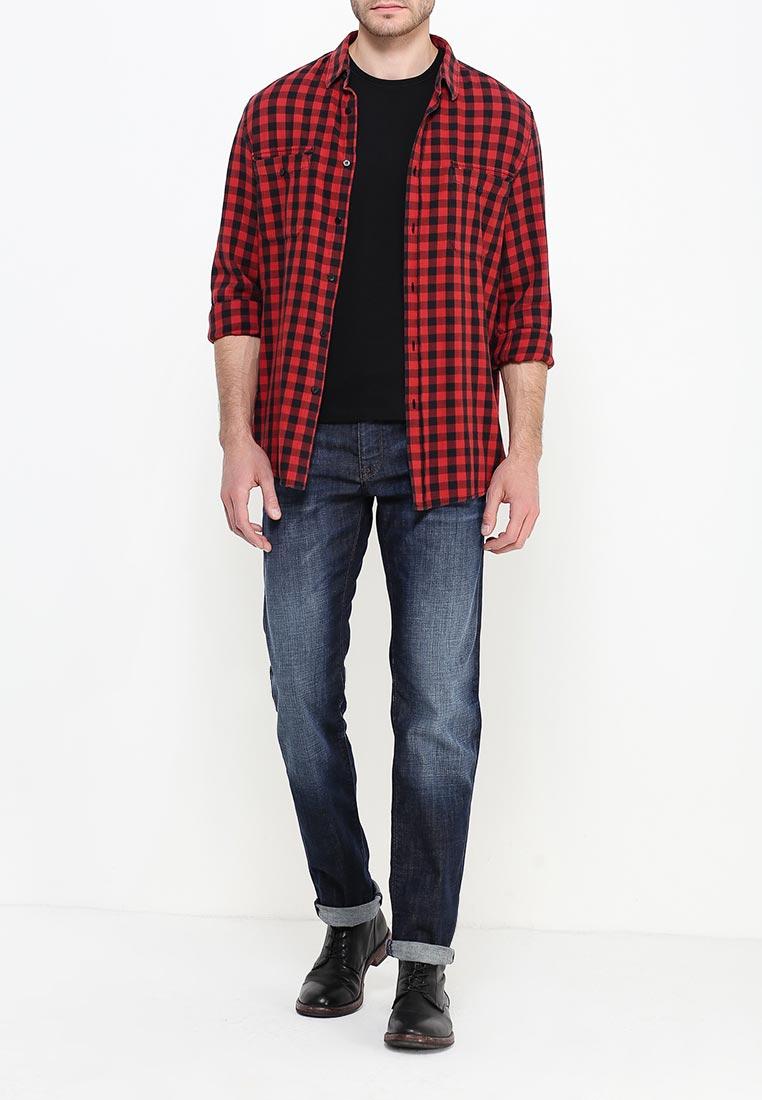 Мужские прямые джинсы Boss Green 50307910: изображение 6