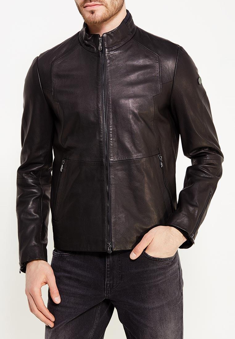 Кожаная куртка Boss Hugo Boss 50377581