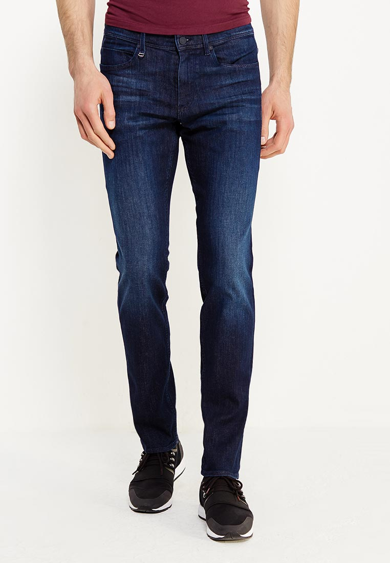 Зауженные джинсы Boss Hugo Boss 50380182