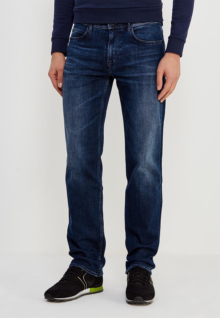 Мужские прямые джинсы Boss Hugo Boss 50380176