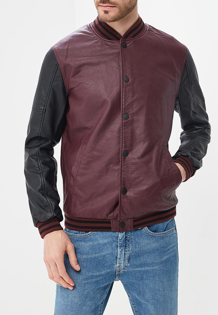 Кожаная куртка Brave Soul MJK-LOCKER