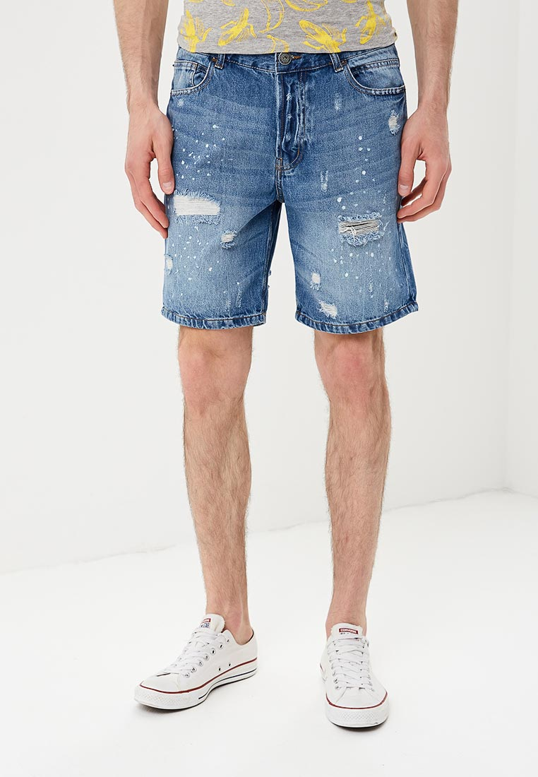 Мужские джинсовые шорты Brave Soul MSRT-DISTRESSED