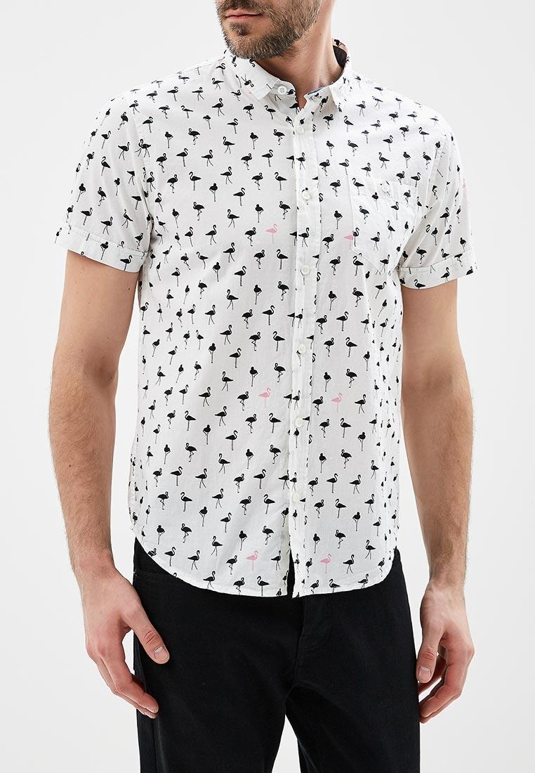 Рубашка с коротким рукавом Brave Soul (Брейв Соул) MSH-273BRAUN