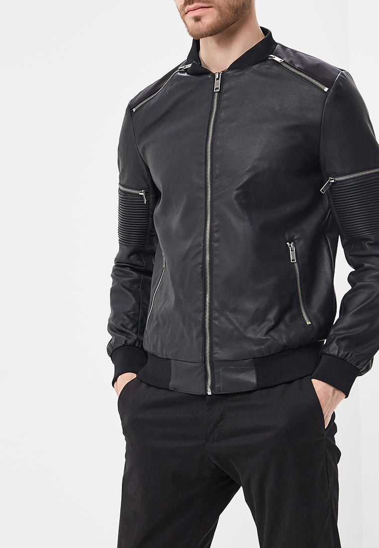 Кожаная куртка Brave Soul MJK-ECPADDOCK