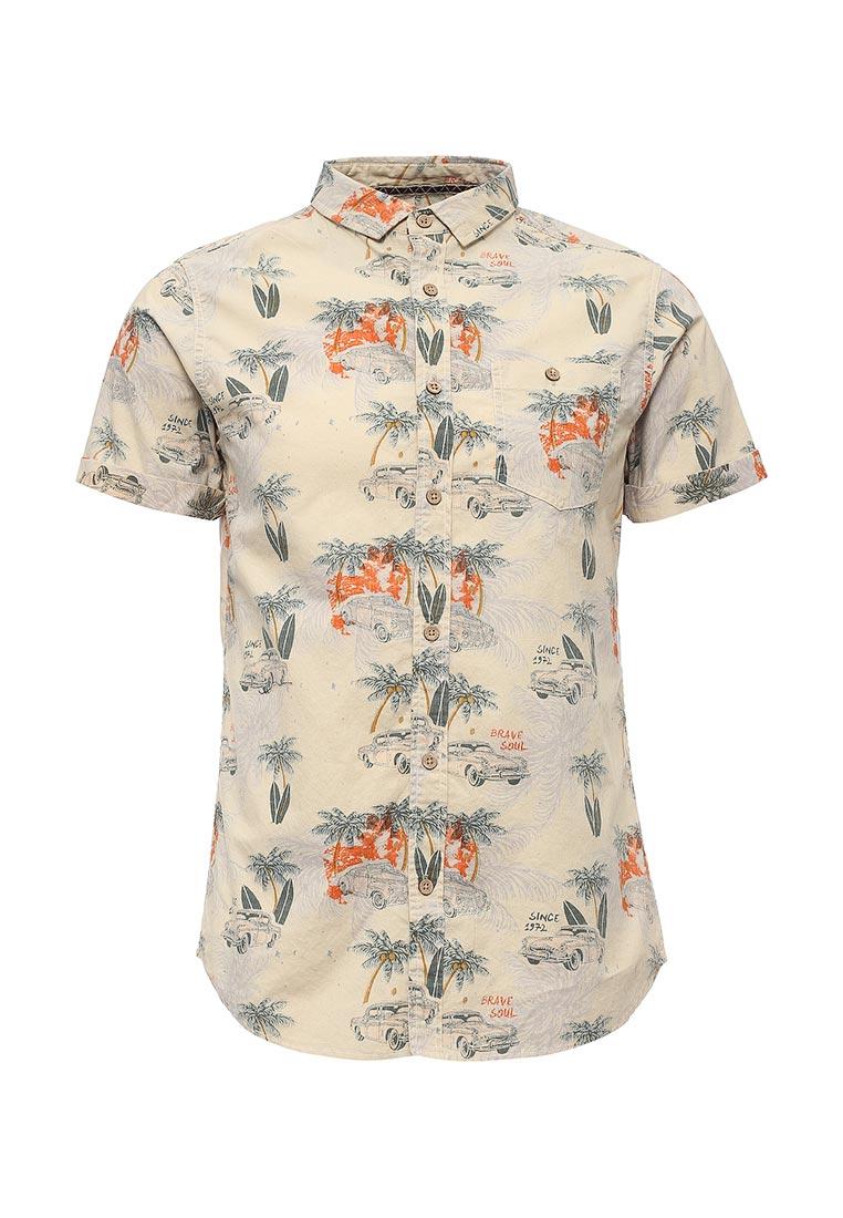 Рубашка с коротким рукавом Brave Soul (Брейв Соул) MSH-48KAPUA