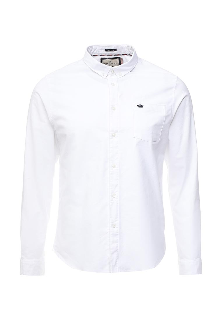 Рубашка с длинным рукавом Brave Soul MSH-69POMPEIIB