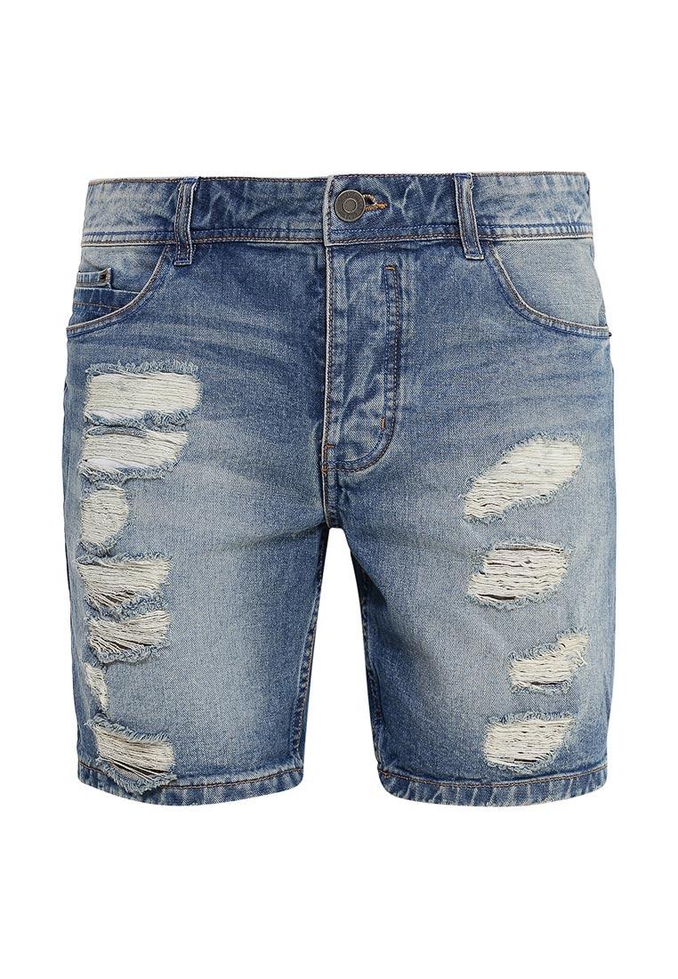 Мужские джинсовые шорты Brave Soul MSRT-REVIEW